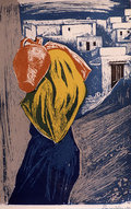 A woman from Skyros with a pitcher