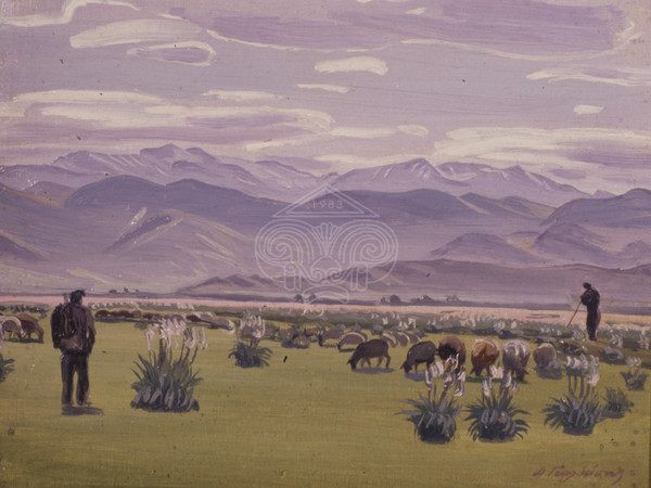 Landscape with shepards
