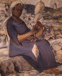 Woman from Skyros